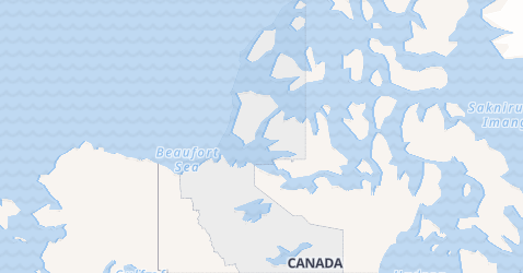Northwest Territories map