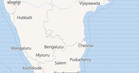 Puducherry map