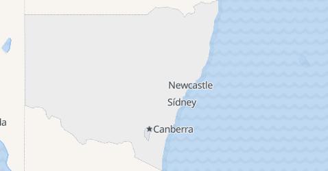 Mapa de Nueva Gales del Sur