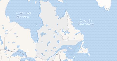Mapa de Quebec