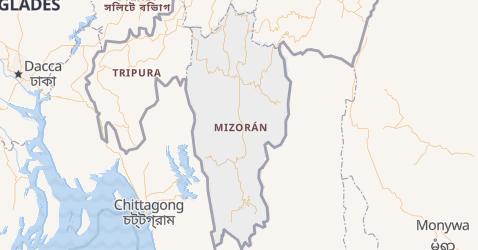 Mapa de Mizorán