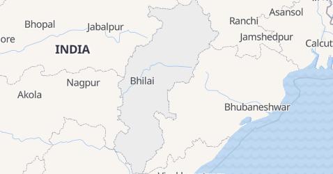 Mapa de Chhattisgarh