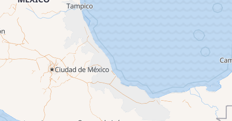 Mapa de Veracruz-Llave