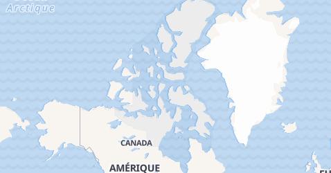 Carte de Nunavut