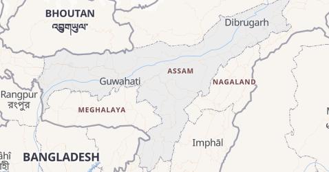 Carte de Assam