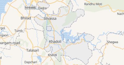 Carte de Dadra et Nagar Haveli