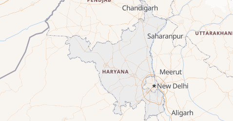 Carte de Haryana