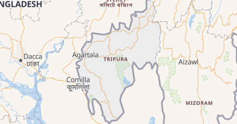 Carte de Tripura