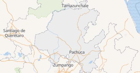 Carte de État dHidalgo