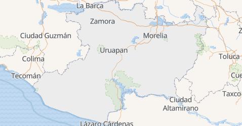 Carte de Michoacán