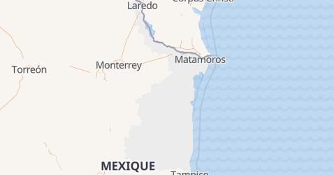 Carte de Tamaulipas