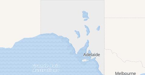 Mappa di Australia Meridionale