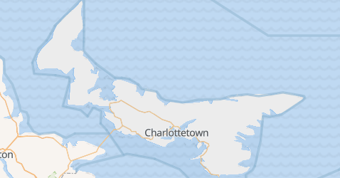 Mappa di Isola del Principe Edoardo