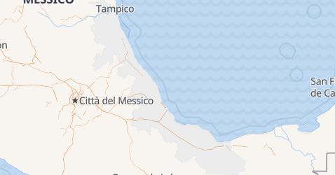 Mappa di Veracruz