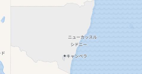 ニューサウスウェールズ地図