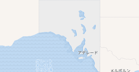 南オーストラリア地図