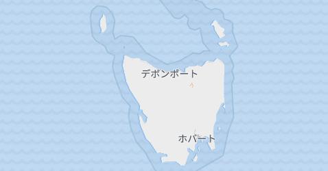 タスマニア地図