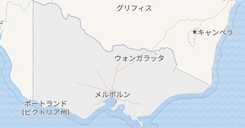 ビクトリア地図