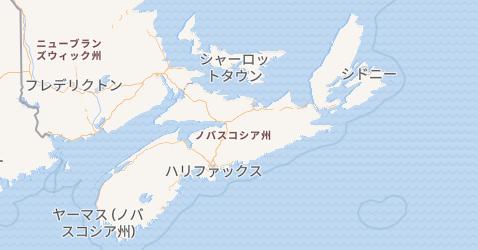 ノバスコシア州地図