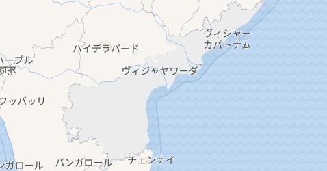 アーンドラ・プラデーシュ州地図
