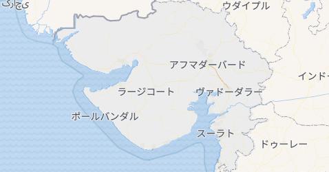 グジャラート州地図