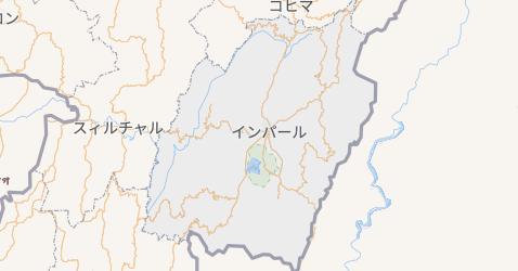 マニプル州地図
