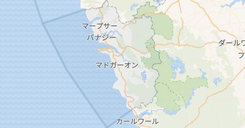 ゴア州地図