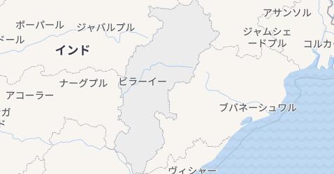 チャッティースガル州地図