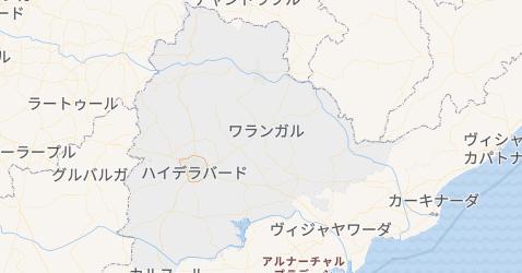 テランガーナ州地図