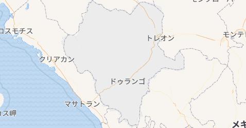 ドゥランゴ州地図