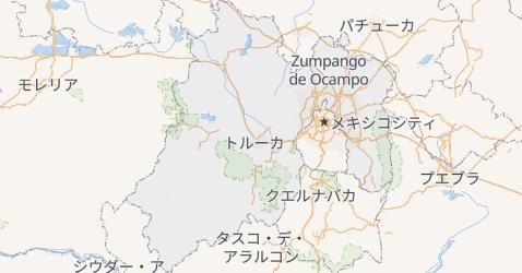 メヒコ州地図