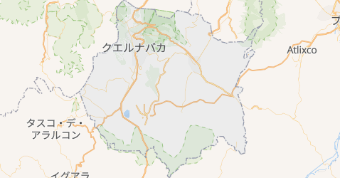 モレロス州地図