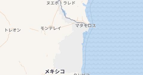 タマウリパス州地図