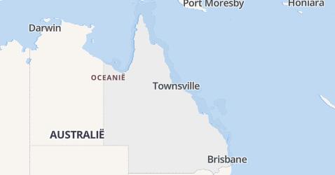 Queensland kaart