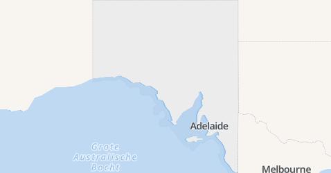 Zuid Australië kaart