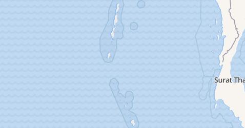 Andamanen en Nicobaren kaart