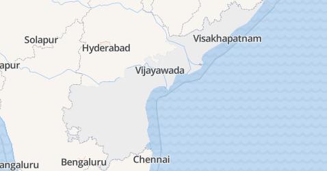 Andhra Pradesh kaart