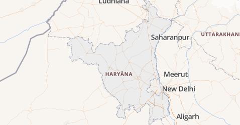 Haryana kaart