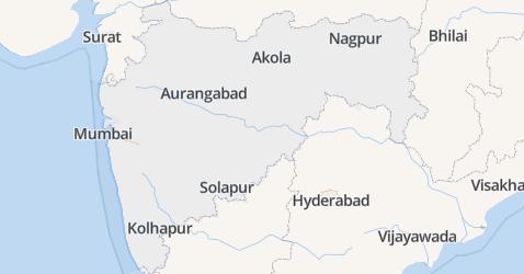 Maharashtra kaart