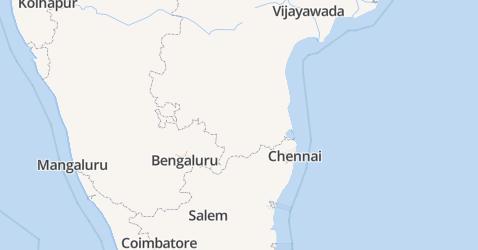 Puducherry kaart