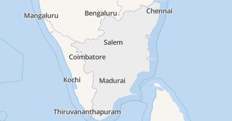 Tamil Nadu kaart