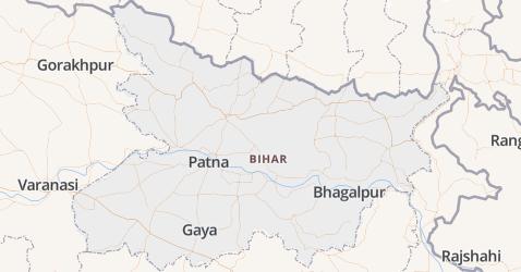 Bihar kaart