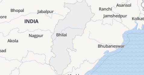 Chhattisgarh kaart