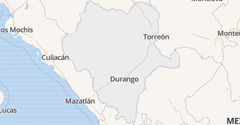 Durango kaart