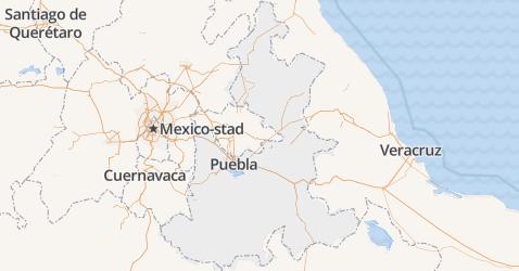 Puebla kaart