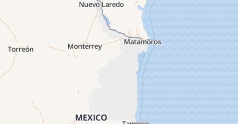 Tamaulipas kaart