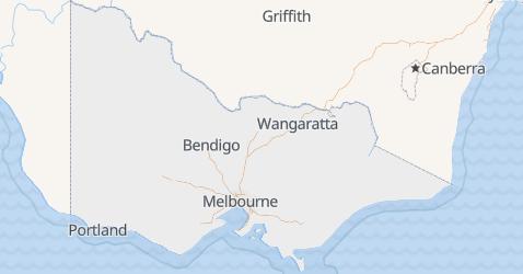 Wiktoria - szczegółowa mapa