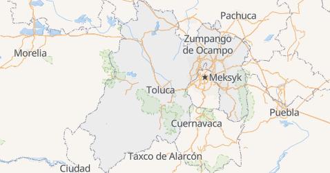 Meksyk - szczegółowa mapa