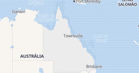Mapa de Queensland