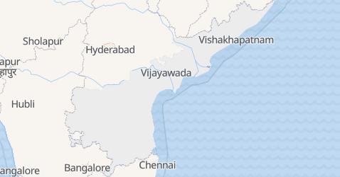 Mapa de Andra Pradexe